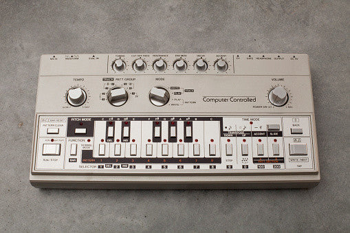 The original TB-303 was meticulously sampled and reprogrammed as an Ableton Live Pack and Kontakt Instrument