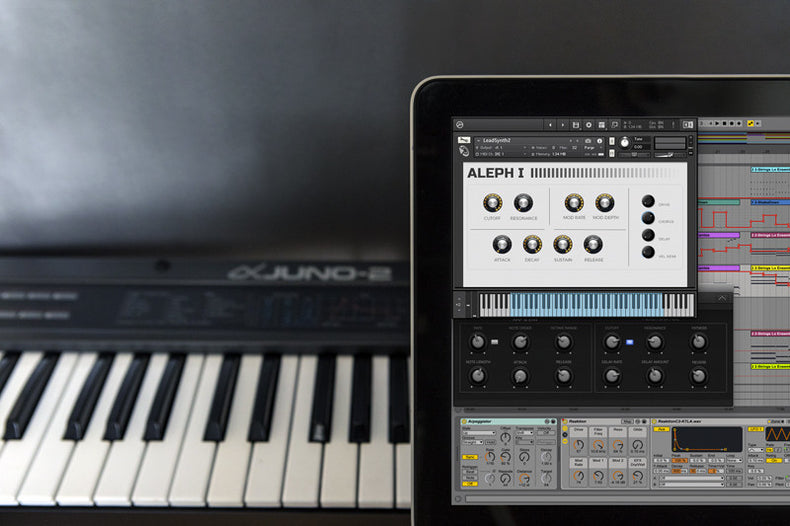 Roland Alpha Juno Ableton Live Pack, Kontakt and Logic Samples