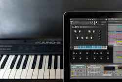 Roland alpha Juno 2 Ableton Live Pack and Kontakt Samples