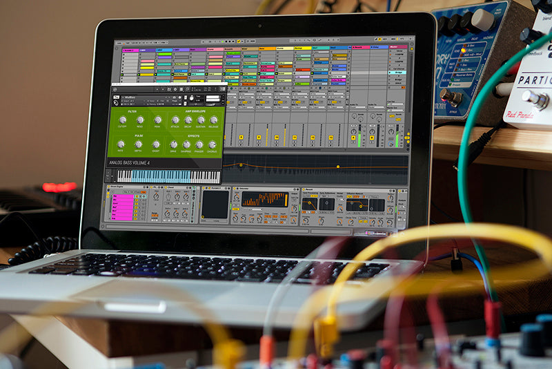 Analog Bass Ableton Live Pack, Kontakt Instruments