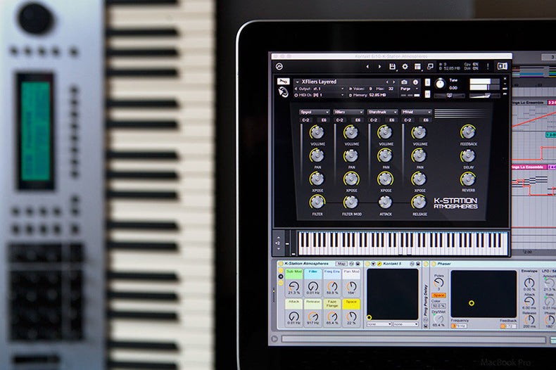 Kawai K5000S Ableton Live Pack, Kontakt Instruments and Samples