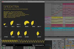 Speektra | Retro Chipspeak Synthesizer