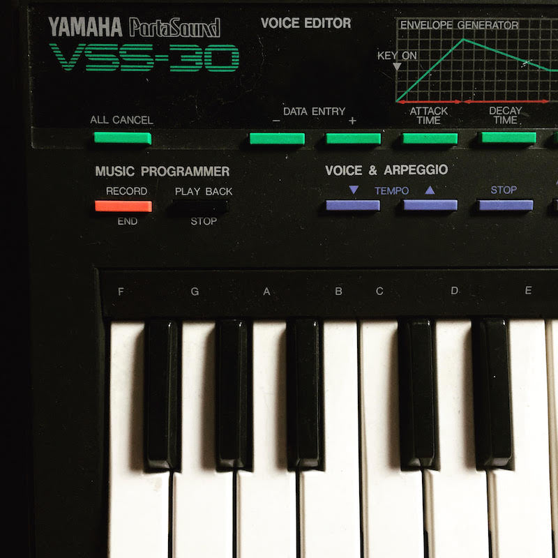 Yamaha VSS-30 Ableton Live Pack, Kontakt and Logic Samples
