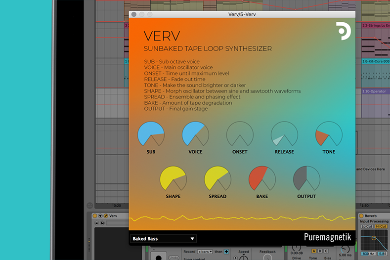 Verv | Sunbaked Tape Loop Synthesizer