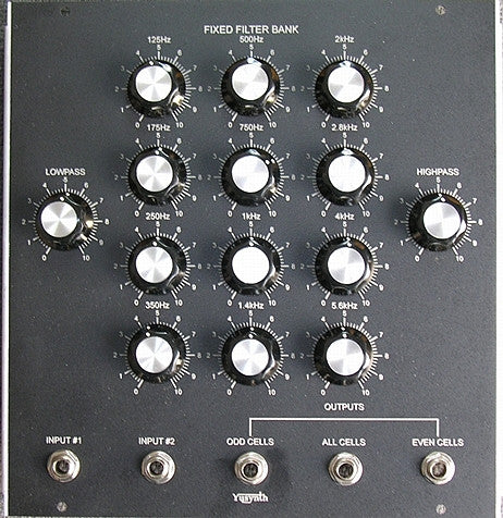 The original Moog 914 Filterbank was dissected and reverse engineered as an Ableton Live Effect Rack