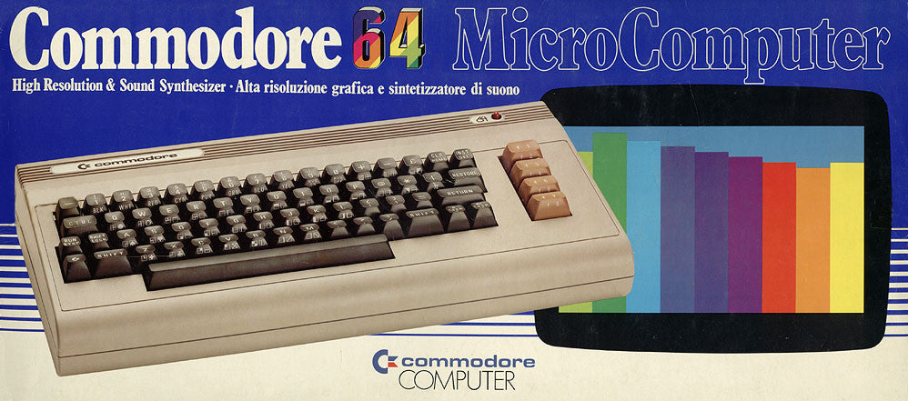 The 6581 Commodore 64 SID chip was sampled and programmed as an Ableton Live Pack, Kontakt Instrument and Logic Library