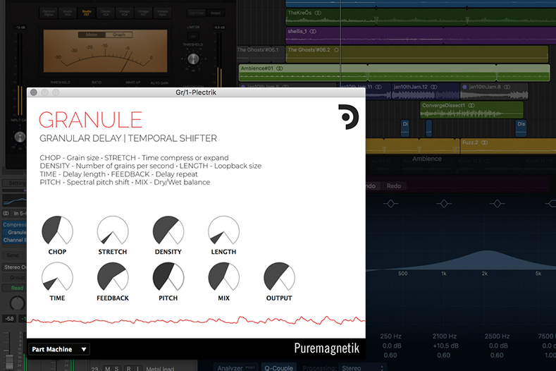Granule grain delay plugin