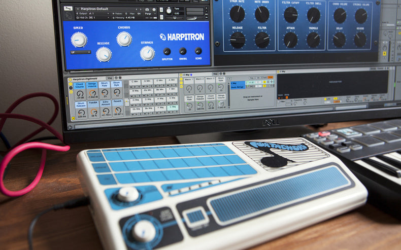 Harpitron brings the Suzuki Tronichord to Ableton Live, Kontakt and Logic