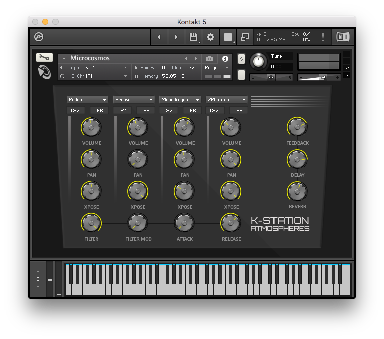 K-Station Atmospheres | The King of Additive Synthesis