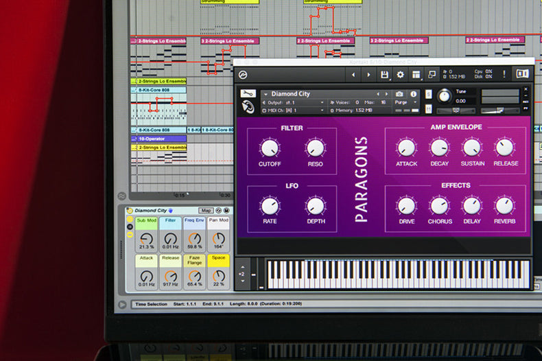 Paragons Ableton Live Pack and Kontakt Instrument