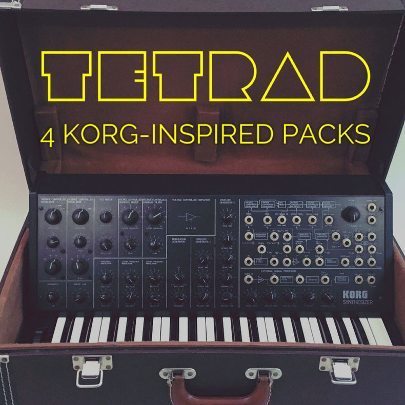 Tetrad | A Quartet of Korg-Inspired Packs