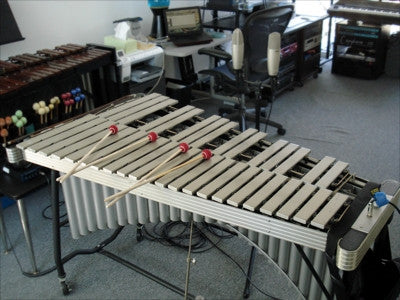 A professional vibraphone was recorded and programmed as an Ableton Live Pack and Kontakt Instrument