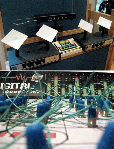Vintage theremins and laboratory effects were used to make this Live Pack and Kontakt Instrument.