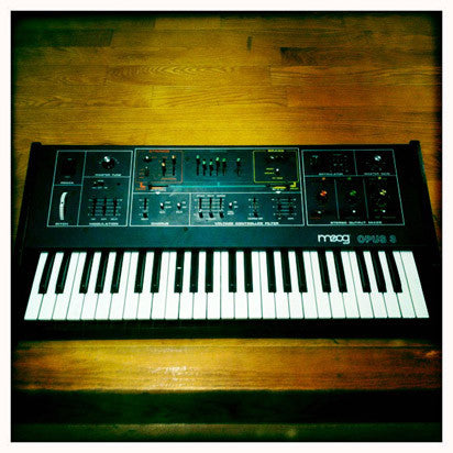 The original Moog Opus Analog synth has been expertly recorded and programmed for Ableton Live, Kontakt and Logic
