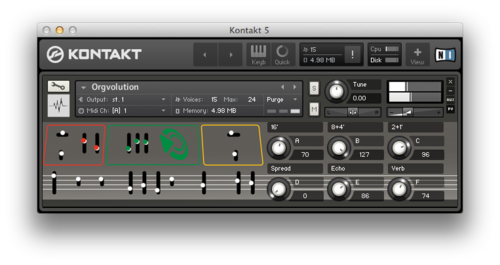 The Opus Kontakt Instrument