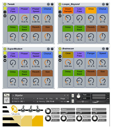 The Skatik Ableton Live Pack and Kontakt Instruments