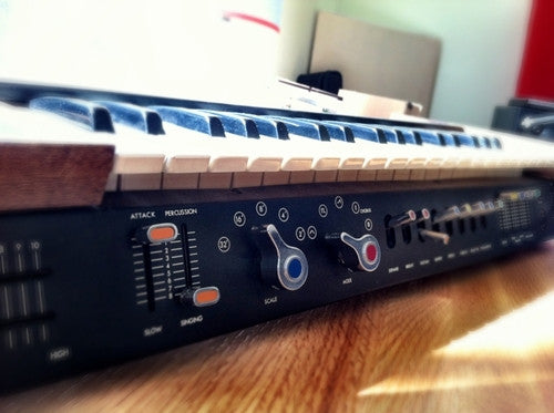 An original MiniKorg was recorded and re-programmed for an Ableton Live Pack, Kontakt Instrument and Logic sample libraries.