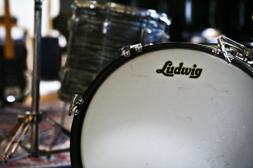 A vintage Ludwig drum set was expertly sampled and programmed as an Ableton Live Pack, Kontakt and Logic Instrument
