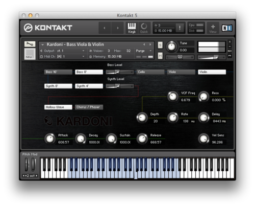 Kardoni Kontakt and Ableton Live Pack Interface