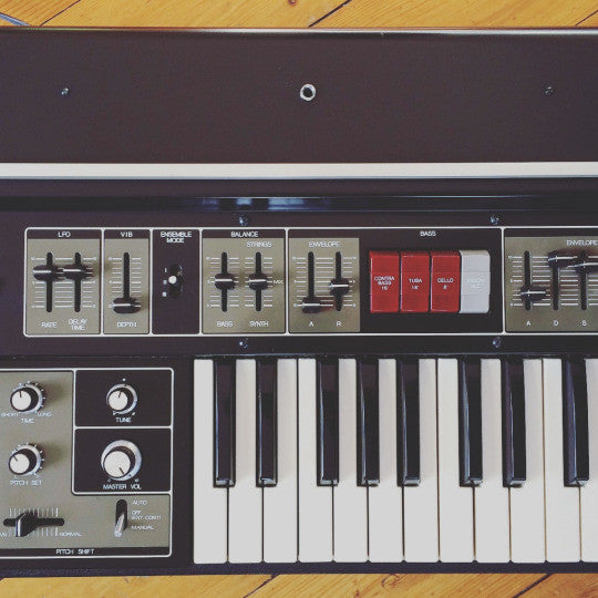 Phonik was modeled after a vintage Roland Paraphonic Analog Synth