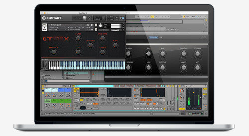 The Teex Ableton, Kontakt and Logic interfaces