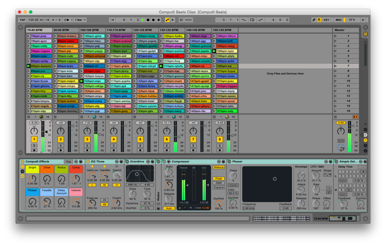 Computo Beats Sample Library for Ableton Live, Kontakt & Logic