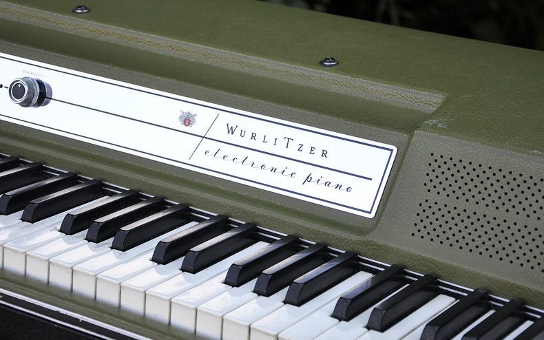 The original Wurlitzer 200a Electric Piano was multi-sampled and adapted as an Ableton Live Pack, Kontakt and Logic Instrument