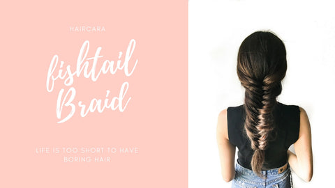 How to create a voluminous Fishtail Braid