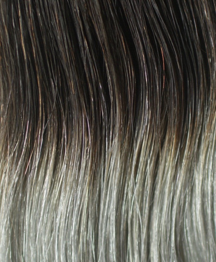 160g Ombre Grey Hair Extension