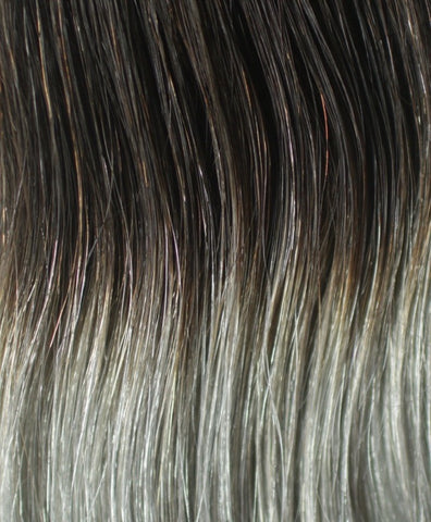 220g Ombre Grey Hair Extension