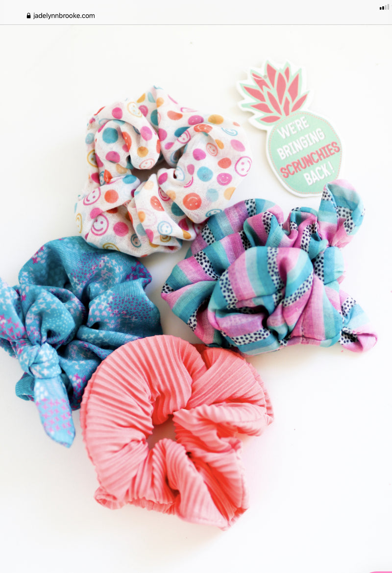 Scrunchie Pack 4 pack VSCO