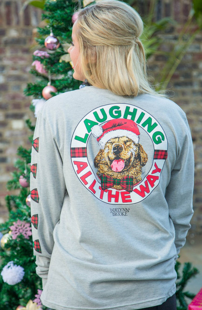 Laughing All The Way Long Sleeve Tee