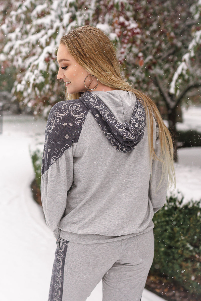 Perfectly Paisley In Everyway Lounge Top