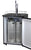 Kegco Full Size 1-Tap Beer Keg Dispenser with Matte Black Door K309B-1NK - BBQHangout