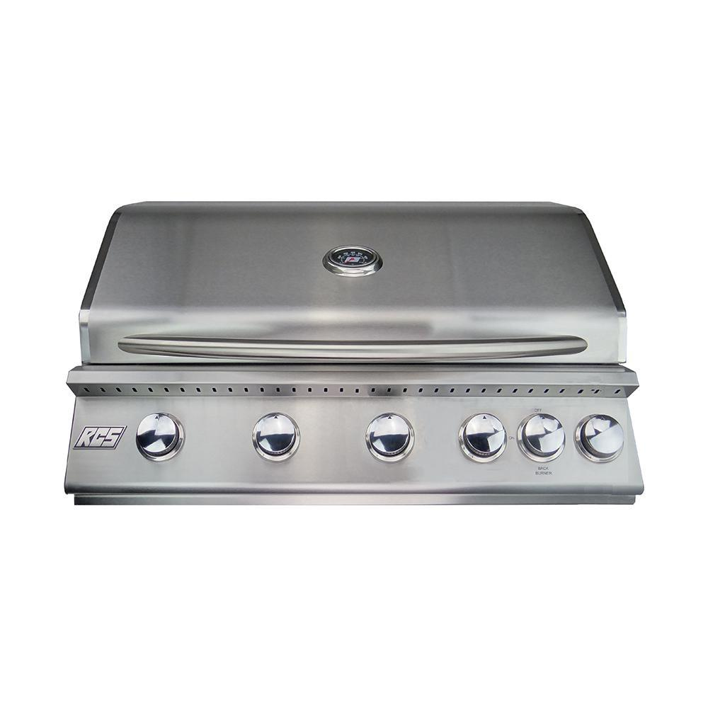 RCS Premier Series 40 Inch Built-In Natural Gas Grill With