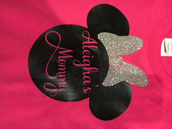 Minnie birthday girl shirt