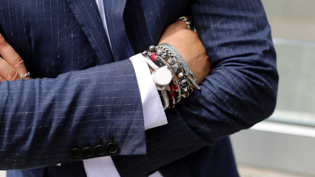 How To Rock Men's Bracelets