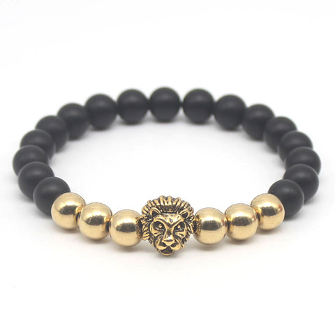 Modern Golden lion bracelet