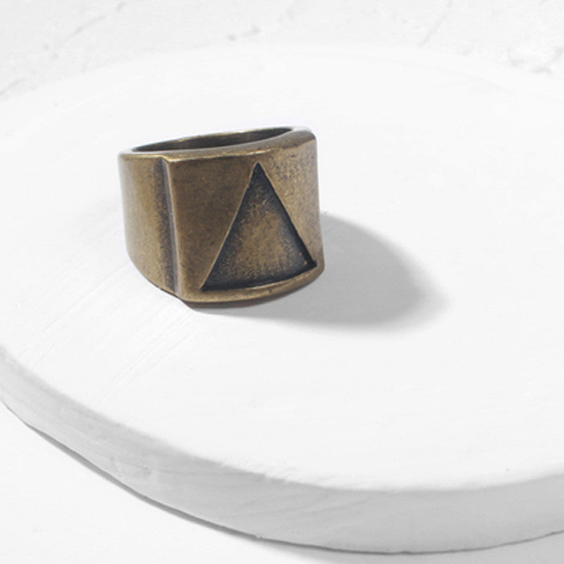 Triangle Geometric Ring