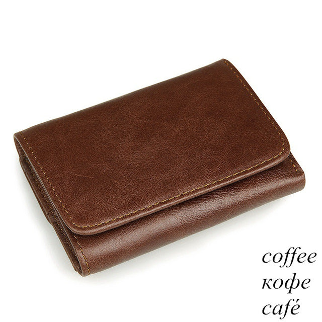 100% genuine cow leather wallet