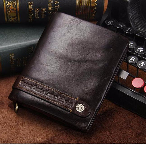 Bifold Genuine Leather Wallet