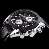 Attitude Chronograph Casual Watch black
