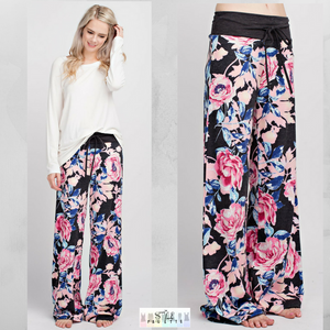 Tiff:  Floral Lounge Pants by 12pm by Mon Ami