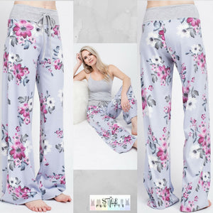 Mel:  Floral Lounge Pants by 12pm by Mon Ami