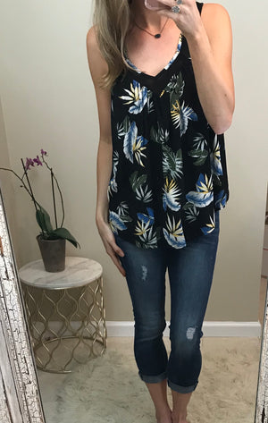 Melissa:  Tropical Tank by Doe and Rae