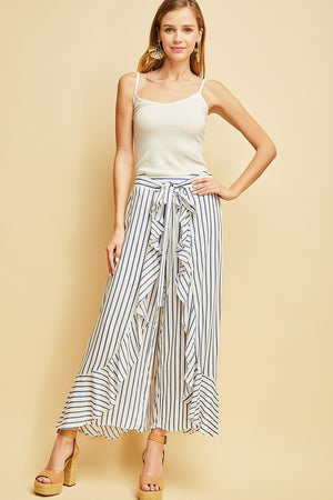 Shelly:  Wide Leg Skirt Pant by Entro