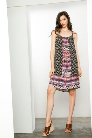 Shannon:   Printed Dress by THML (Premier Brand)
