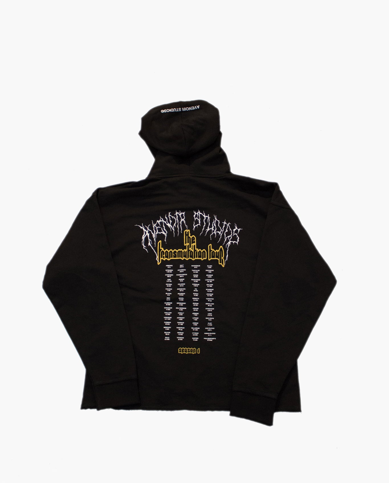 """The Transmutation Tour"" Alchemist Oversized Hoodie"