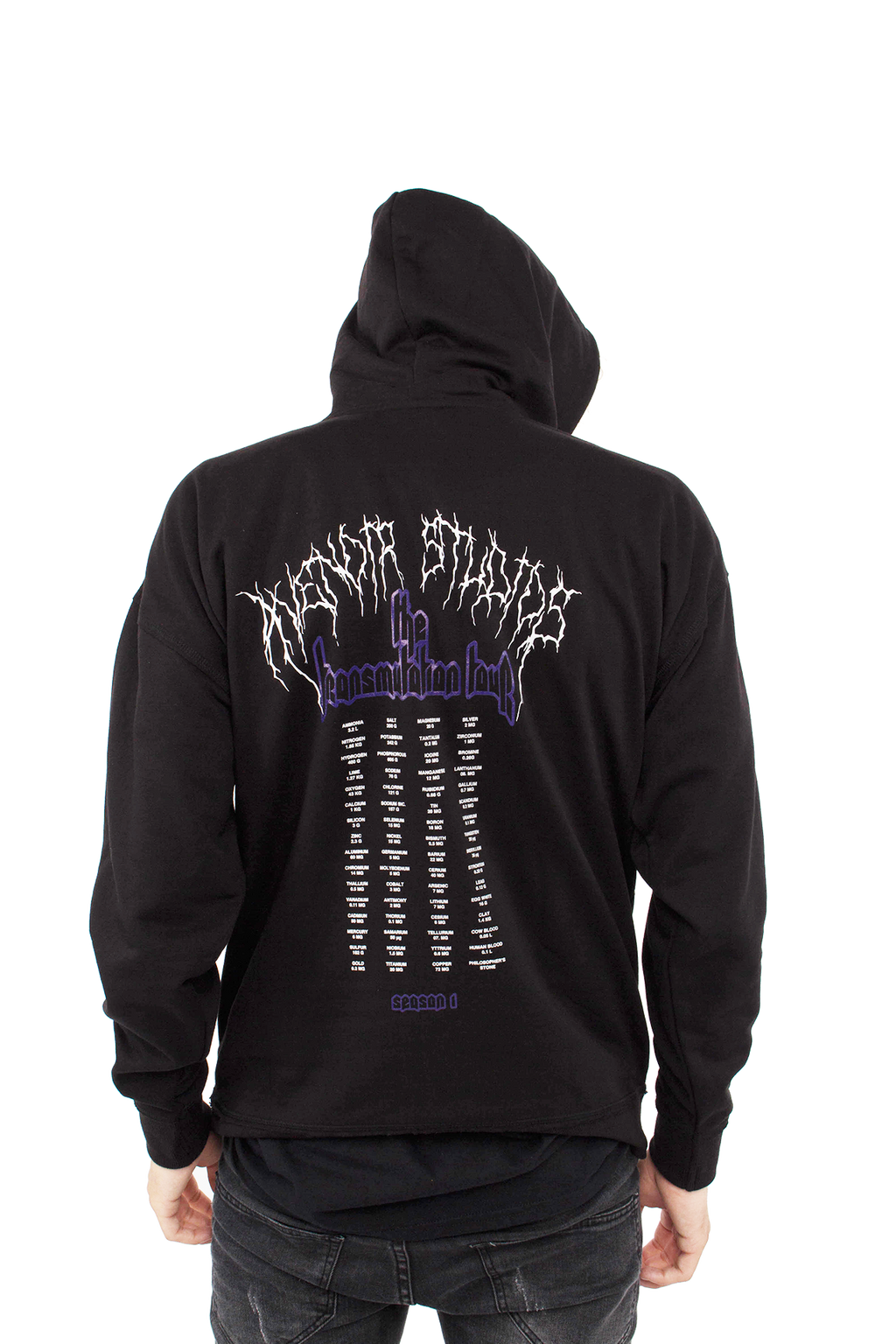 """The Transmutation Tour"" Homunculus Oversized Hoodie"