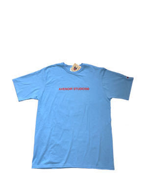 "Champion ""Memory Lane High"" T-shirt (Light Blue)"